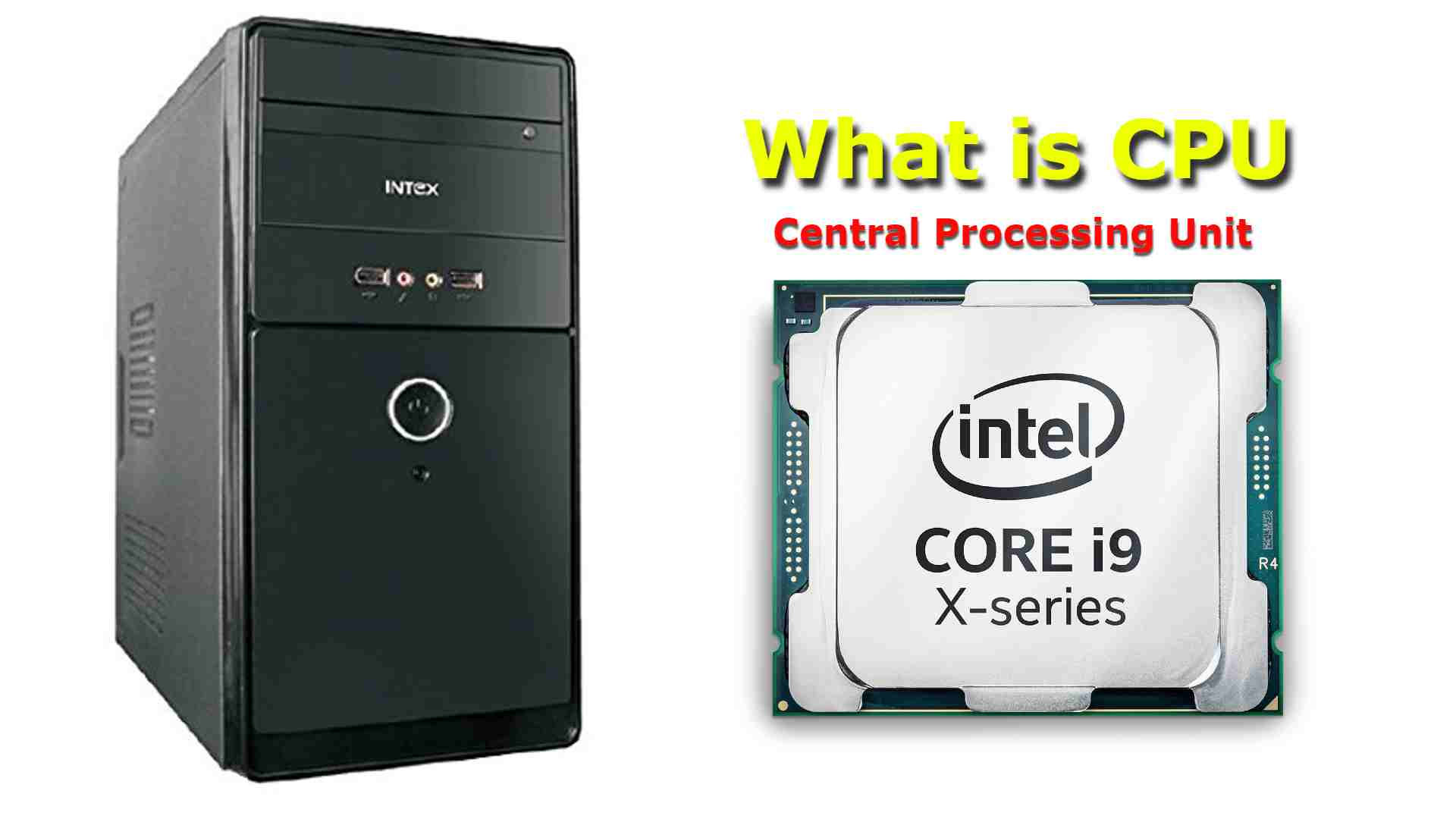 What is CPU, finished data about CPU