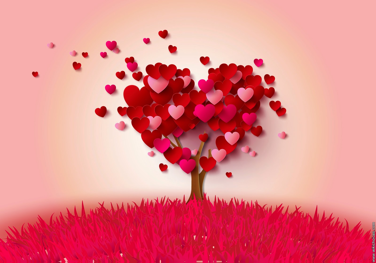 Beautiful pictures of tree of love and heart shaped trees ...