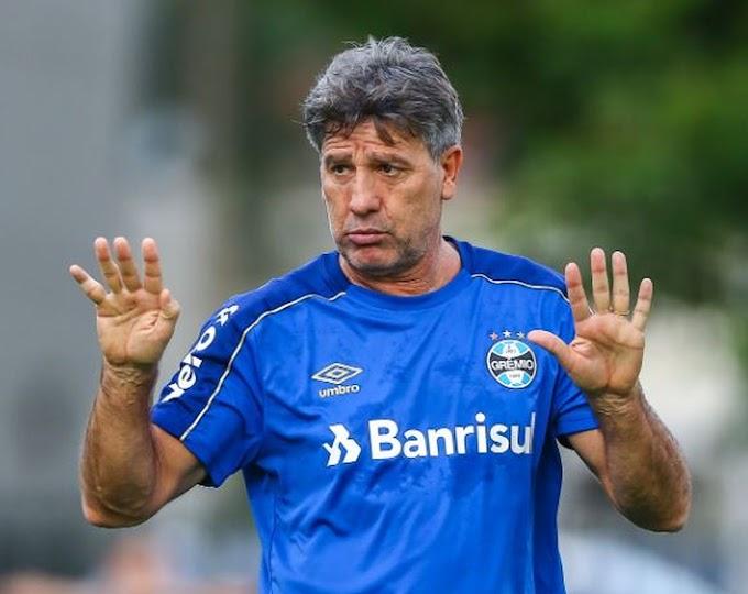 Sem trabalhar no jogo da eliminação, Renato Gaúcho é demitido do Grêmio