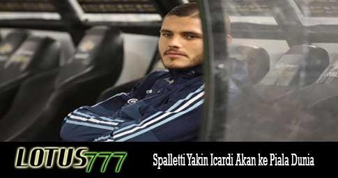 Spalletti Yakin Icardi Akan ke Piala Dunia