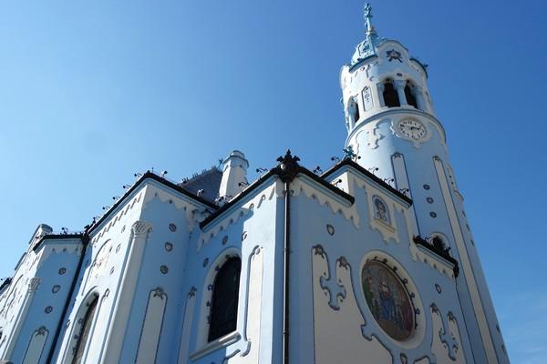 bratislava église saint-elisabeth art nouveau