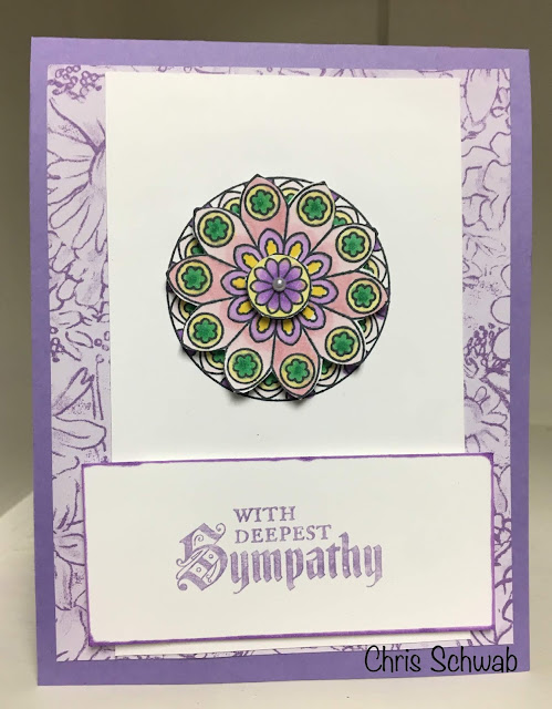 Stampin' Up!, Graceful Glass, Painted Glass, www.stampingwithsusan.com, Susan's Sparklers