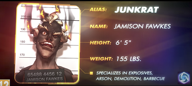 Junkrat ya disponible en el nexo