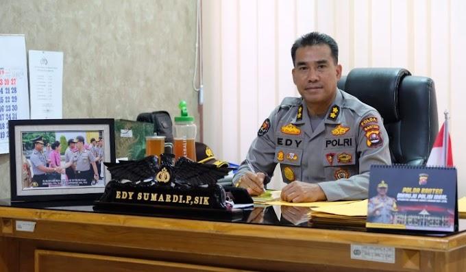 Kabidhumas Polda Banten : Pengamanan Arus Mudik dan Balik Lebaran 2019 di Provinsi Banten, Sukses dan Aman