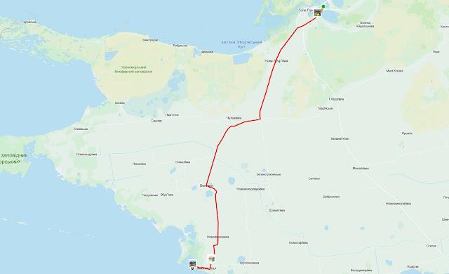 маршрут на железный порт