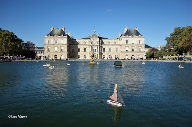 Bateaux au Jardin du Luxembourg, Paris © Laura Próspero