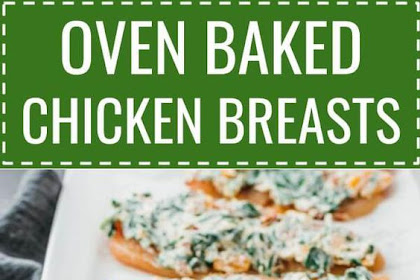 Oven Baked Chicken Breasts (Keto Recipe)