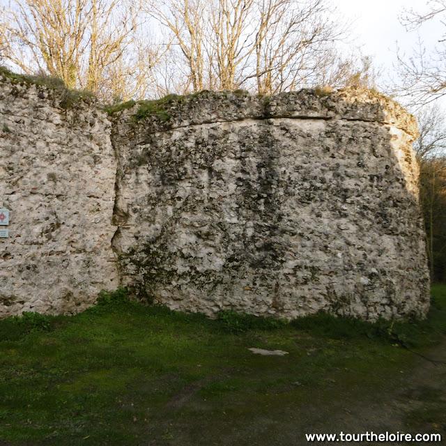 Roman castellum, Larcay, Indre et Loire, France. Photo by Loire Valley Time Travel.