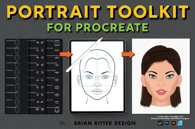 Portrait Toolkit For Procreate 4484763