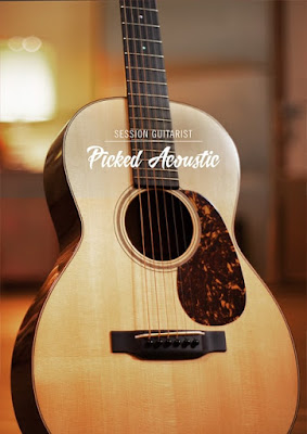 Cover da Library Native Instruments - Session Guitarist - Picked Acoustic (KONTAKT)