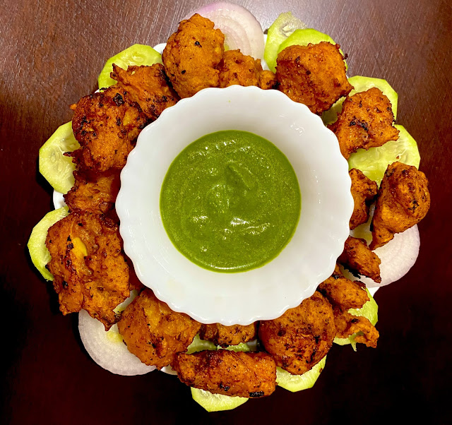 Chicken Pakoda on the spcial occasion of Chhadakhai 2021