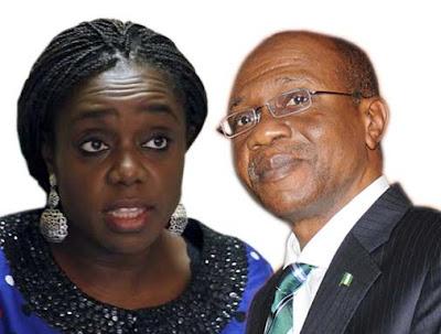 nigerian Senate Adeosun Emefiele cbn economy gist naija