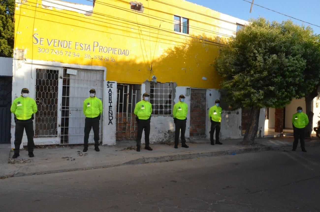 hoyennoticia.com, Demolido inmueble donde se expedían drogas en Valledupar