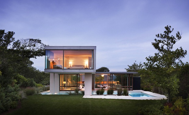 Architecture Corner Amazing Home Modern Small Surfside