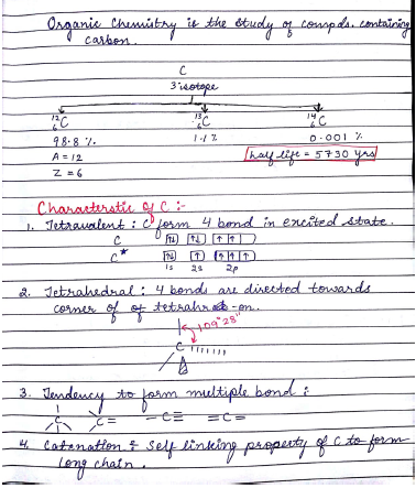 Chemistry Chapterwise Notes (IUPAC Nomenclature) : For JEE and NEET Exam PDF Book