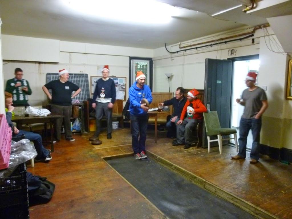 London Skittles at the Hampstead Lawn Billiard and Skittle Club