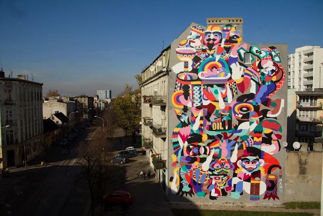 New Street Art By 3TTMAN In Lodz, Poland For Fundacja Urban Forms Festival 2013. 1