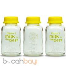 Botol Kaca Asi, Wadah Asi, Penampung ASI, botol Babypax
