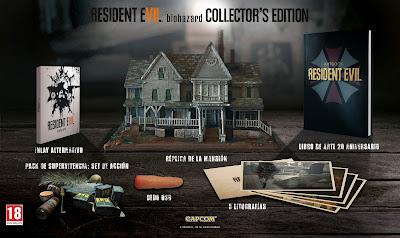 Edición de Coleccionista de Resident Evil 7 biohazard