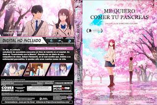 ME QUIERO COMER TU PANCREAS – Kimi no suizô wo tabetai – 2019 [COVER DVD]