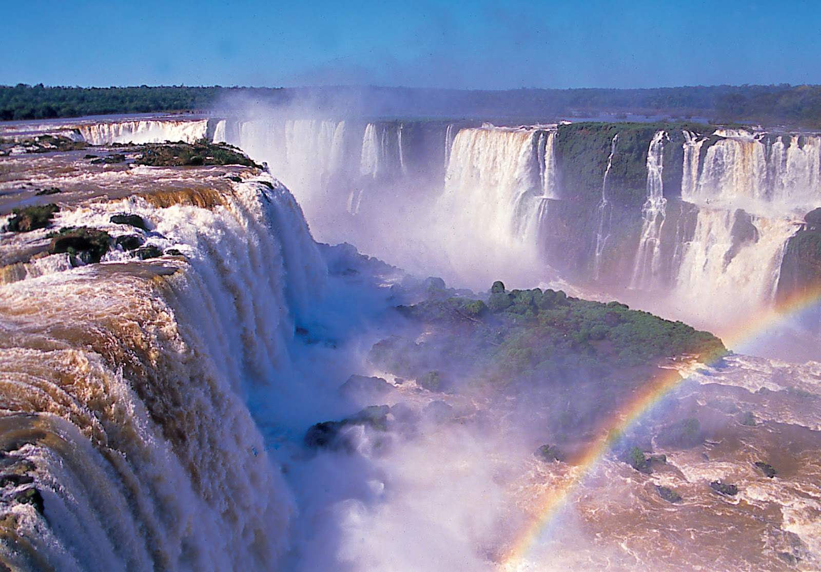 Iguazu Falls In Brazil And Argentina Luxury Places