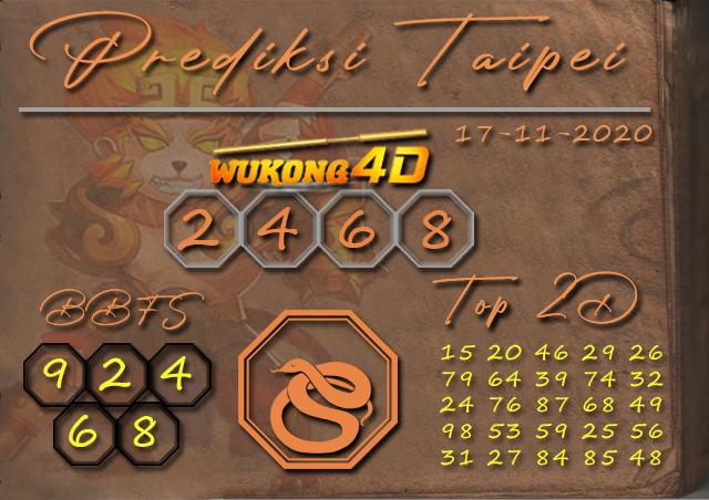 PREDIKSI TOGEL TAIPEI WUKONG4D 17 NOVEMBER 2020