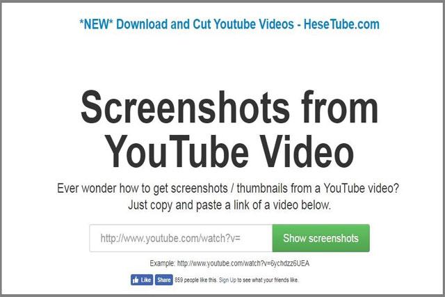 كيفية أخذ صورة من مقطع فيديو متواجد على اليوتيوب بدون الحاجة الى تحميله