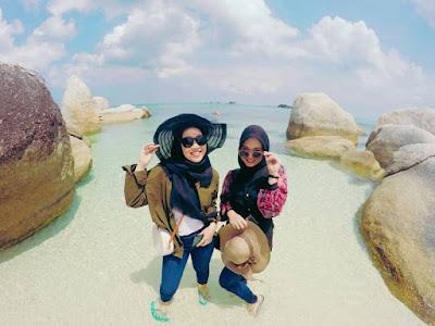 one day trip hopping island belitung