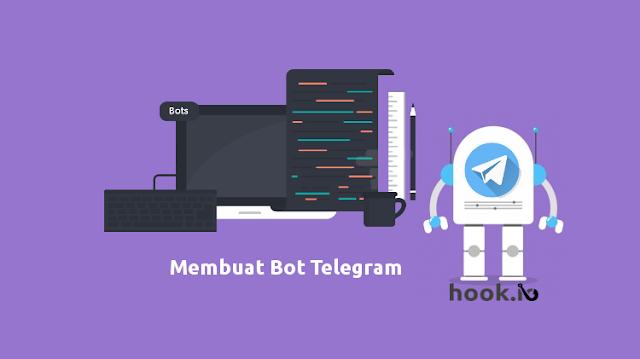Cara membuat bot Telegram Webhook