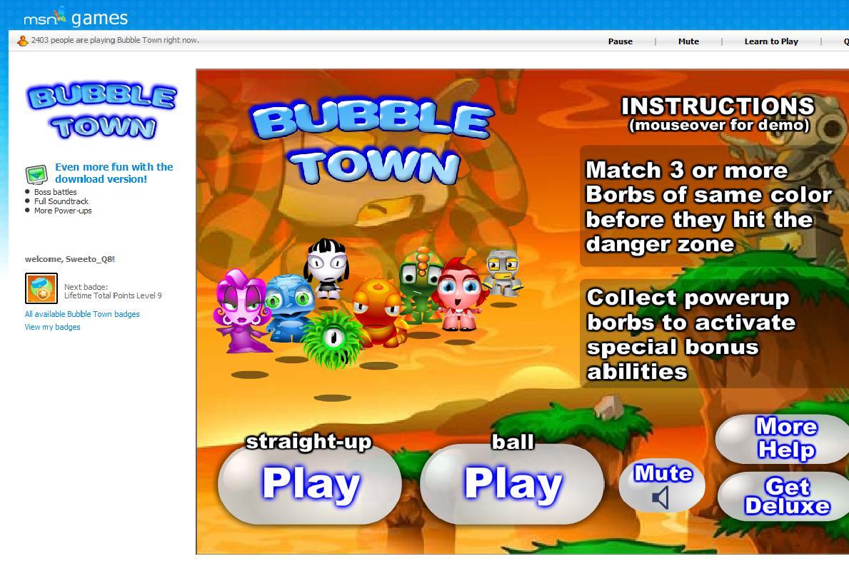 Bubbletown free