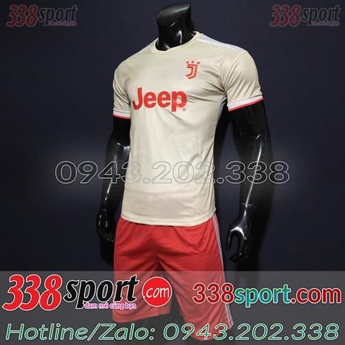 Áo Câu Lạc Bộ Juventus 2020 Sân Khách Màu Trắng