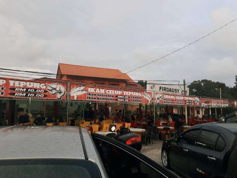 Firdausy Seafood Corner, Ikan Celup Tepung (ICT) Tepi Pagar AirportTok Jembal