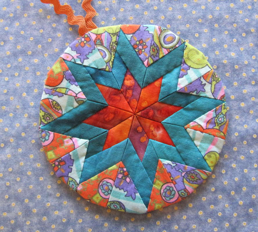 Folded Star Pincushions Tutorial