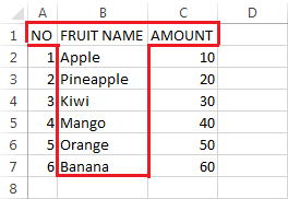 Label / Text Data Type