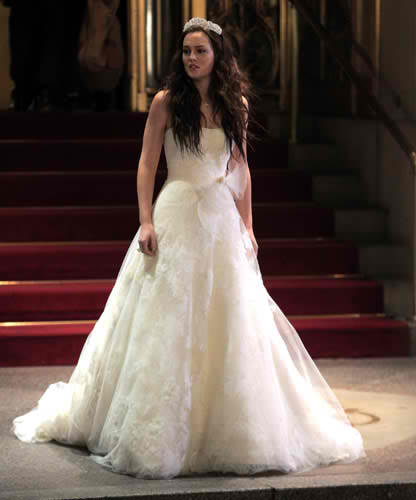 Gossip Girl Season 5 Royal Wedding   Blair Waldorf