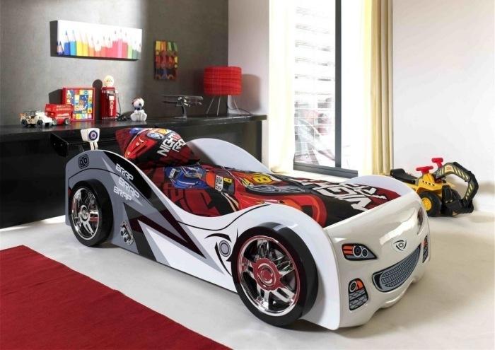 Camas para ni os con forma de autos dormitorios colores y estilos - Lit enfant 3 suisses ...