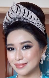 diamond crescent tiara brunei lady wan haziquah aqilah binti yussof
