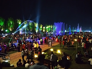 Jamshedpur Jubilee Park 3rd March Lighting 2018 Jubli Park, Light  founders day tata company fountain