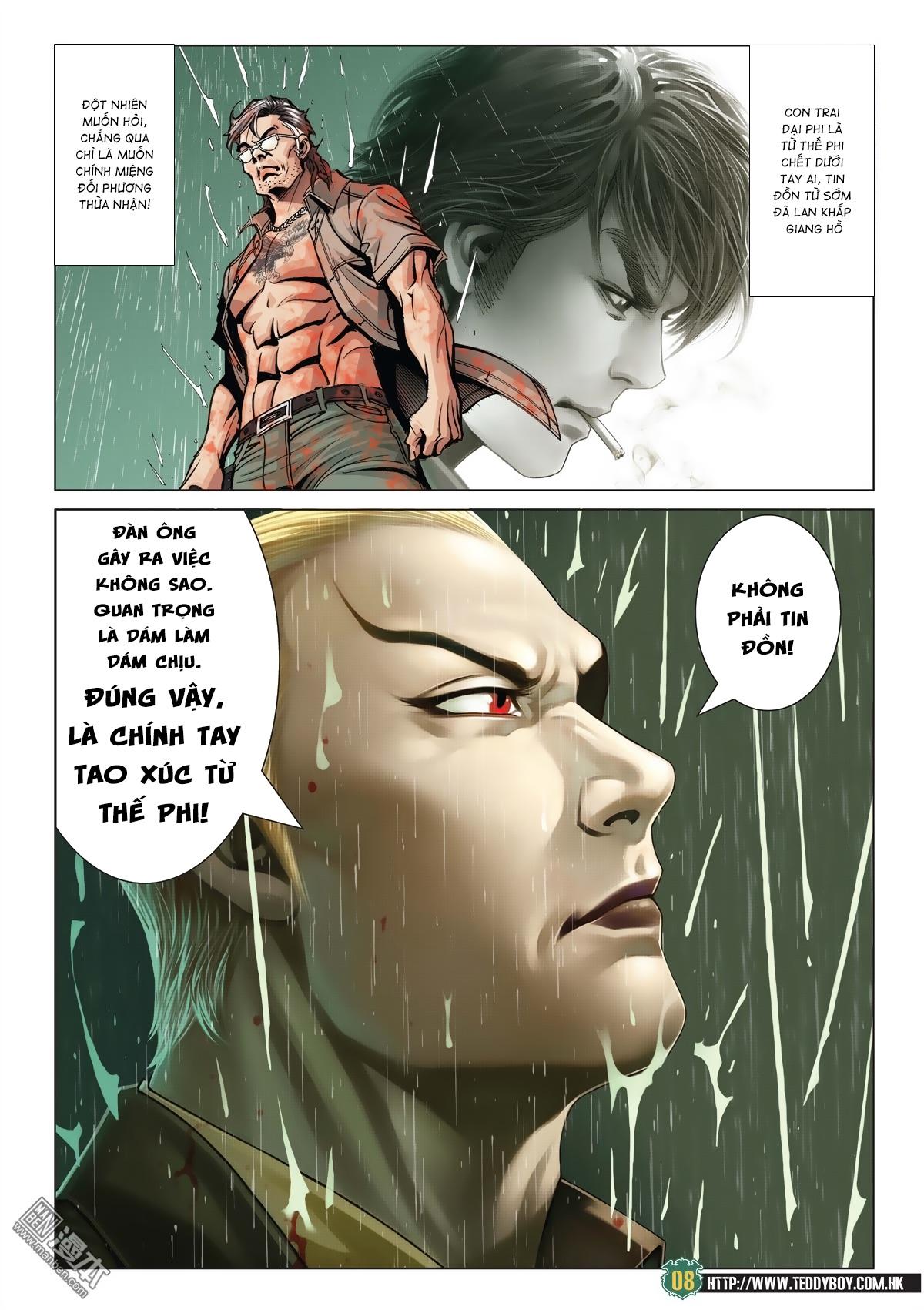 Người Trong Giang Hồ chapter 2033: kim tôn quý vs đại phi trang 5