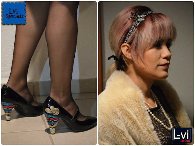 DIY 1920s shoes + Daisy Buchanan costume by Lucebuona