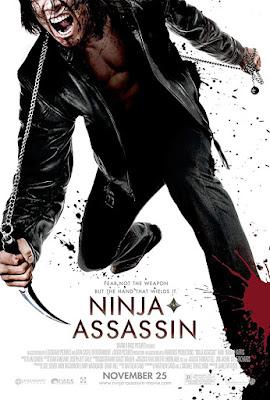 Ninja Assassin 2009 Dual Audio Hindi 720p BluRay 800mb