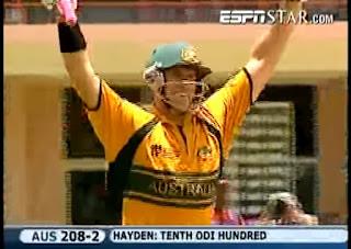 Matthew Hayden 103 - Australia vs New Zealand 47th Match ICC Cricket World Cup 2007 Highlights