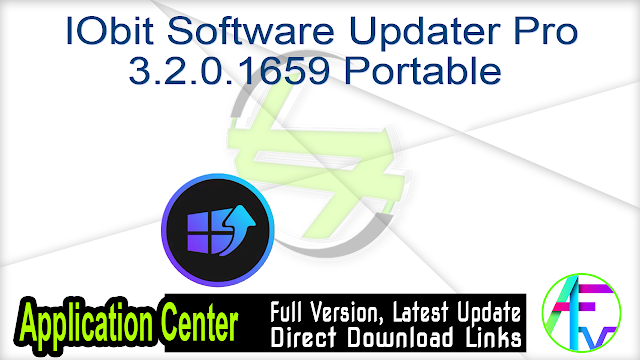 IObit Software Updater Pro 3.2.0.1659 Portable