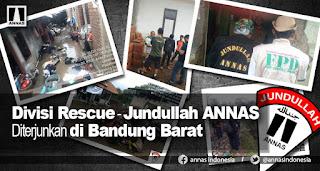 Tangani Banjir, Aliansi Nasional Anti Syiah Diterjunkan di Bandung Barat