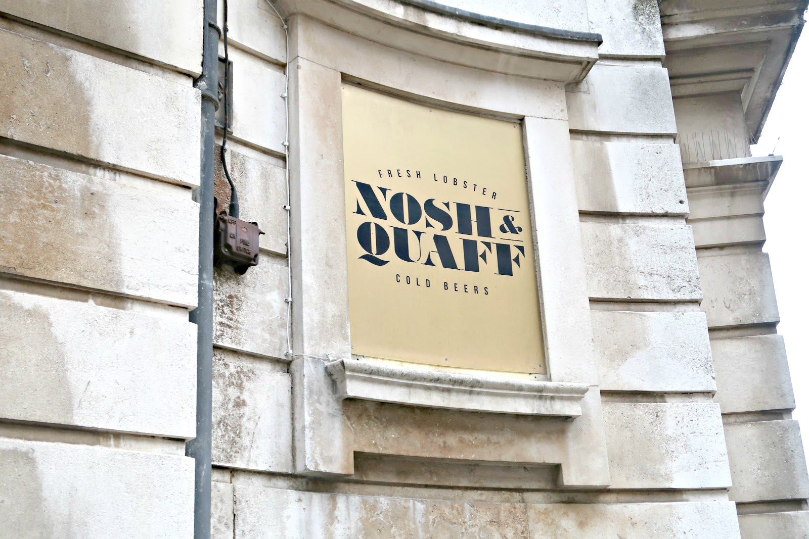 nosh and quaff birmingham restaurant food review blogger