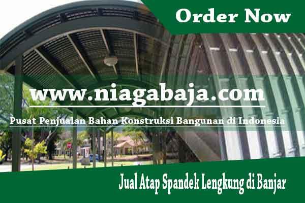 Jual Atap Spandek Lengkung di Banjar - Harga Murah Berkualitas