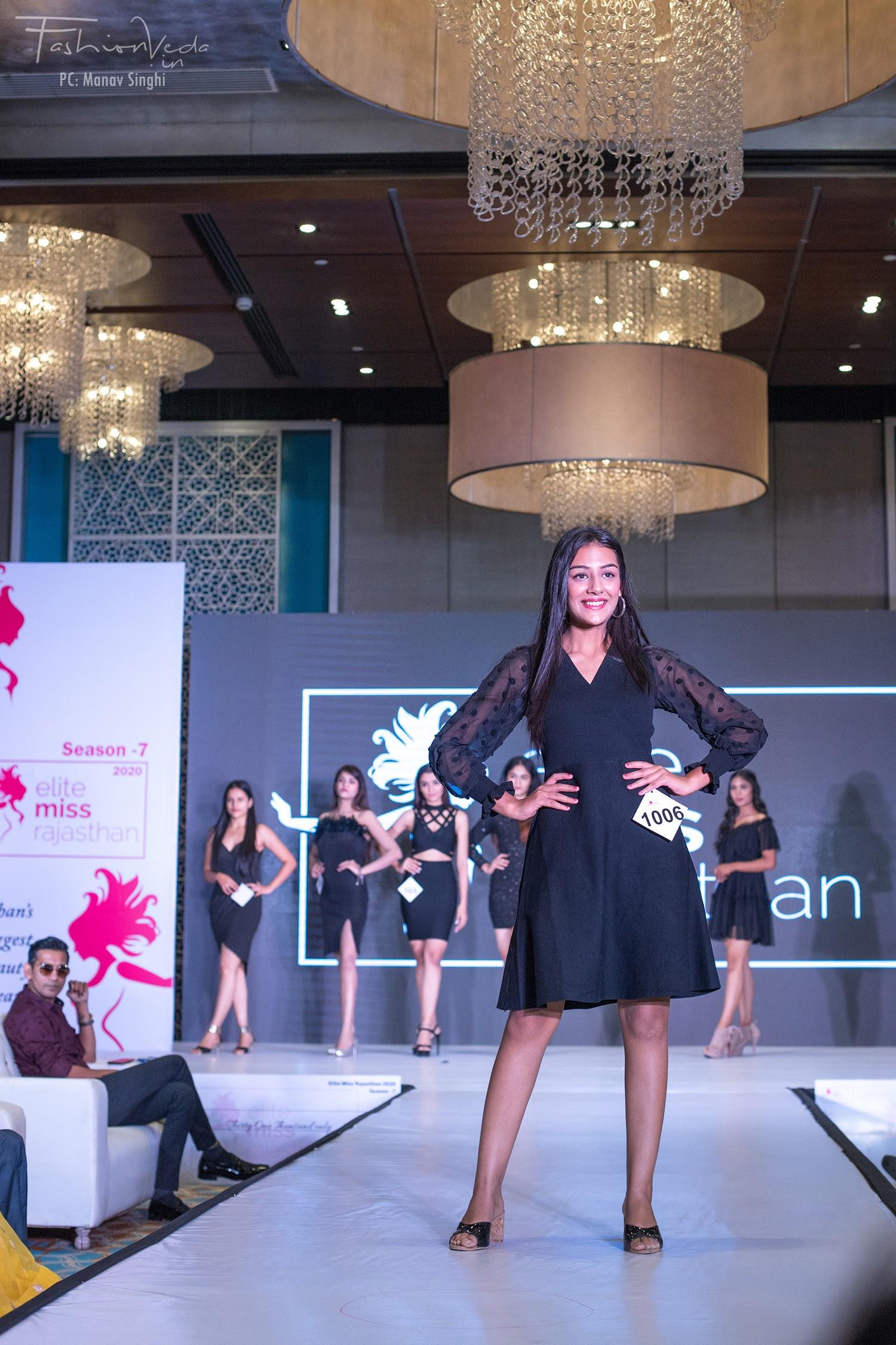 First round of Jaipur audition of Elite Miss Rajasthan 2020, season 7.