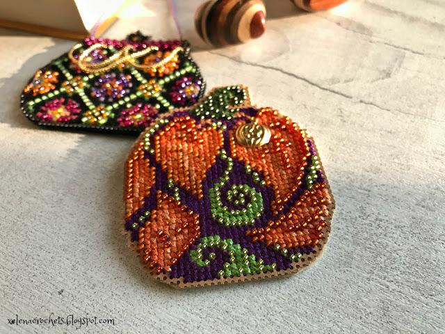вышивка Mill Hill тыква Autumn Pumpkin