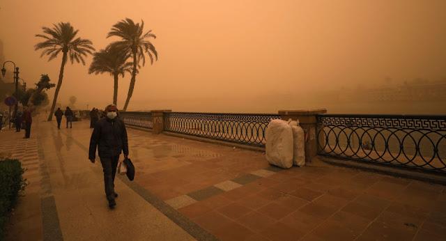 """إعصار """"ميديكين"""" يضرب مصر هذا الأسبوع"""
