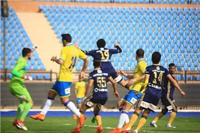 ملخص واهداف مباراة الاسماعيلي والانتاج الحربي (3-3) الدوري المصري